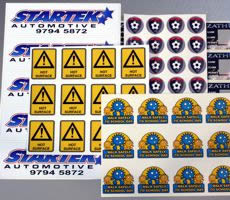 Budget Vinyl Stickers Cheap Custom Sticker Printing Budget - Custom vinyl stickers au